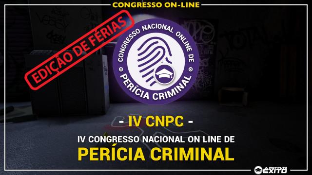 IV CNPC - Edição de Férias